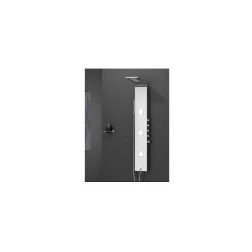 aquos panel prysznicowy, inox exp-0002 * wysyłka gratis marki New trendy