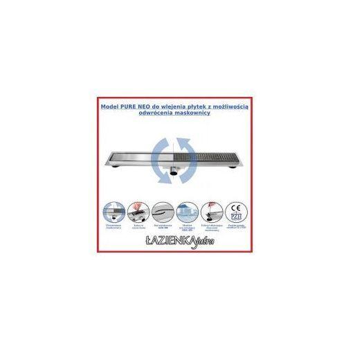NEO&PURE N Odpływ liniowy 100cm, ruszt ozdobny, REA-G0095