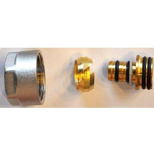 Schlosser Złączka zaciskowa do rury z tworzywa sztucznego pex gw m22x1,5 - 16x2 6026 00003 niklowana