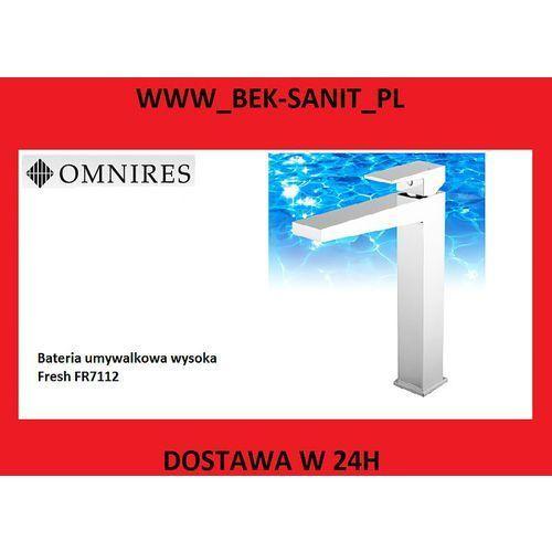 Bateria Omnires Omnires fresh fr7112 bateria umywalkowa, wysoka. FR7112