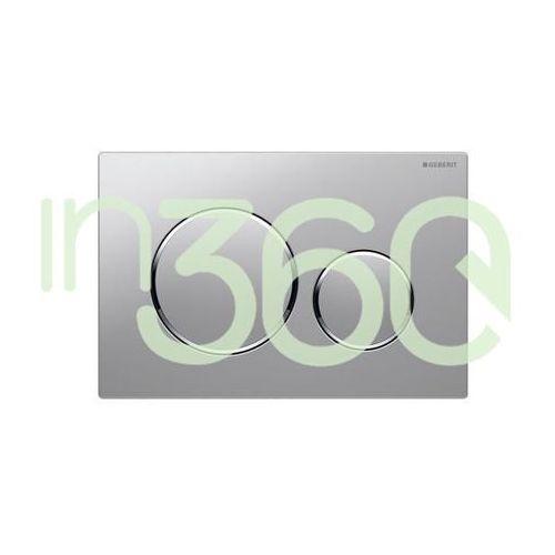 Geberit Sigma20 przycisk uruchamiający przedni, chrom mat-chrom bł.-chrom mat 115.882.KN.1