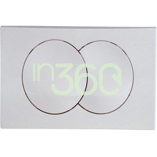 delta20 przycisk uruchamiający przedni do spłuczek podtynk. up100, chrom mat. 115.100.46.1 marki Geberit