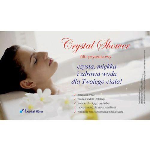 Global water Filtr prysznicowy zmiękczający crystal shower
