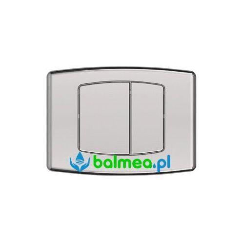 Balmea Dwudzielny, przyciskowy panel spłukujący wc do zbiornika podtynkowego