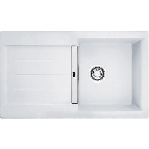 Zlew Franke JAG 611 Biały Polarny 114.0158.655 (zamów wycięcie otworów gratis)