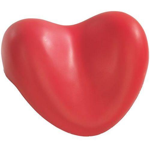 Wenko Poduszka relaksująca do wanny, czerwone serce,