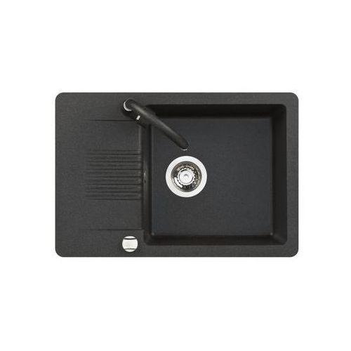 Zlewozmywak granitowy z baterią fiord s25a711t marki Kuchinox