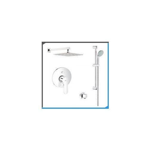 Podtynkowy zestaw prysznicowy z baterią GROHE BauEdge 29079000, chrom ZEST215