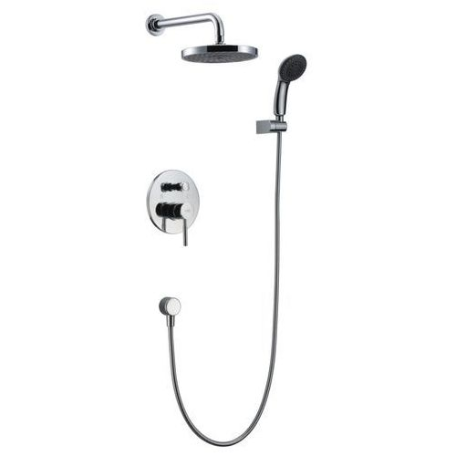 denver zestaw prysznicowy podtynkowy deszczownicą i prysznicem den-zkp.150c marki Blue water