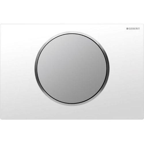 Sigma10 przycisk uruchamiający przedni do spłuczek podtynkowych up320 biały/chrom matowy/chrom matowy - 115.758.kl.5 marki Geberit