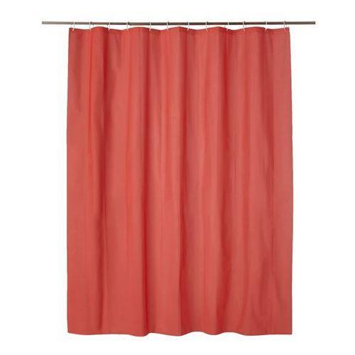 Zasłonka prysznicowa Cooke&Lewis Palmi 180 x 200 cm czerwona (3663602965879)