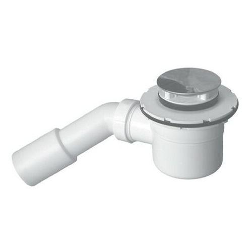 New Trendy syfon brodzikowy z otworem odpływowym Ø 52 S-0022 (5908218954786)