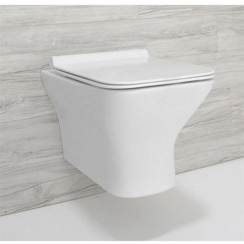 Miska wisząca WC bezkołnierzowa, Bruno Rimless Rea