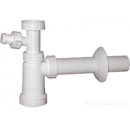 Syfon umywalkowy 40mm ze złączem do pralki CV1010