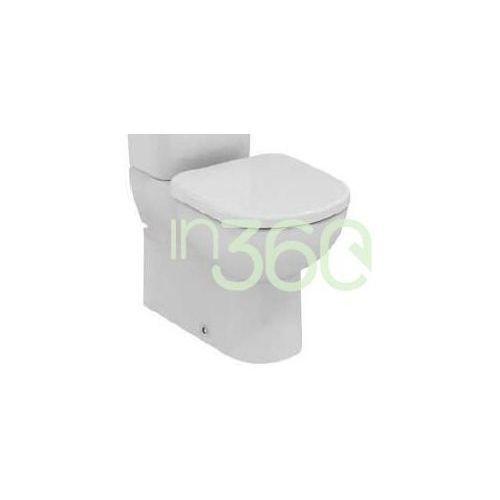 Ideal standard tempo miska wc kompaktowa krótka biały t328101