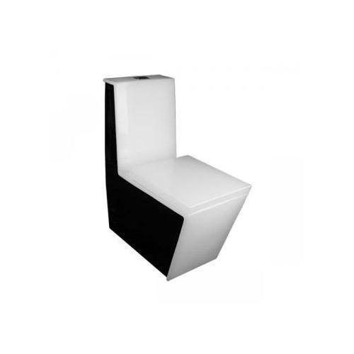 Lineablue Ceramiczny kompakt wc stella b&w