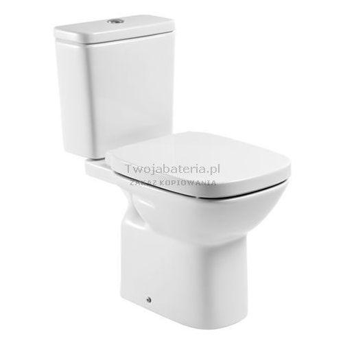 debba square miska wc do kompaktu odpływ poziomy a342997000 marki Roca