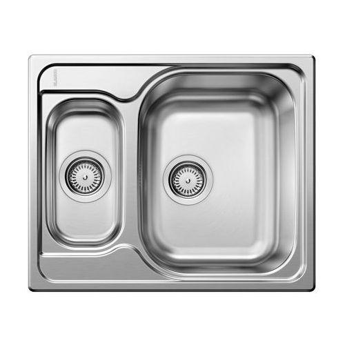 Zlewozmywak stalowy TIPO 6 BASIC BLANCO, kolor srebrny