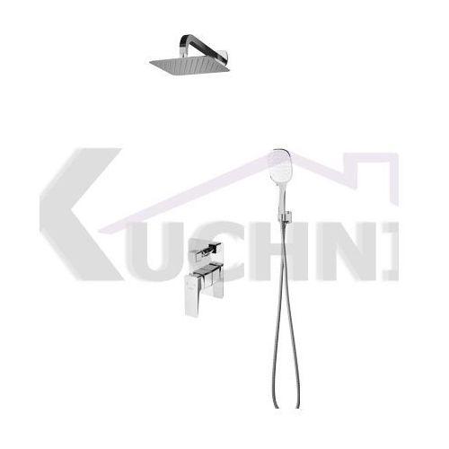 OMNIRES PARMA SYS PM10 CR CHROM system prysznicowy podtynkowy, SYS PM10 CR