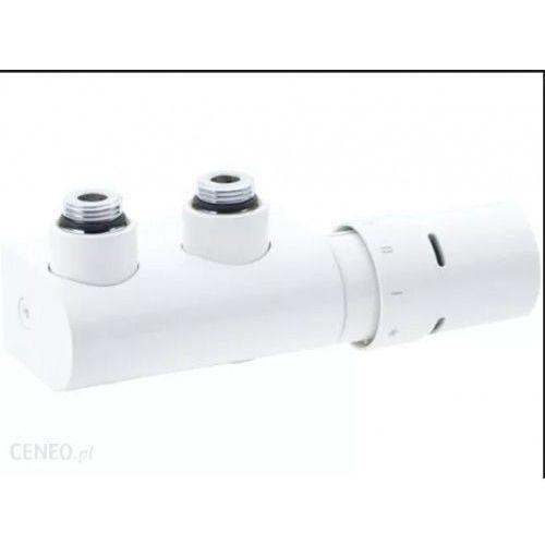 Purmo Zestaw instalacyjny kątowy 50 mm danfoss vhx-duo biały kątowy