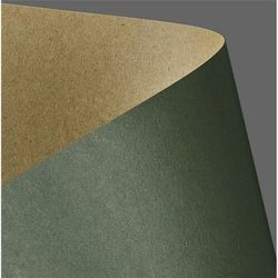 Papier ozdobny ARGO Kraft 275g. - zielony, 204414