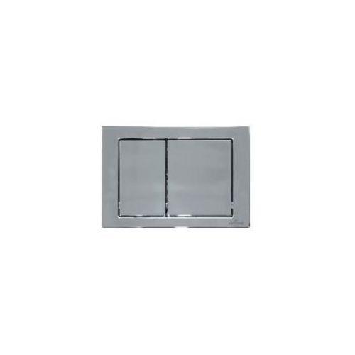Cersanit przycisk hi-tec cube chrom błyszczący k97-263