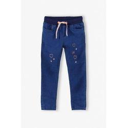 Spodnie dziewczęce jeansowe 3L4002
