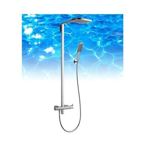 Omnires hudson zestaw prysznicowy-termostatyczny, chrom hs4144/6