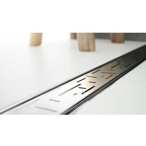 Odpływ liniowy ze stali nierdzewnej skyline tetris 80 cm marki Lorac