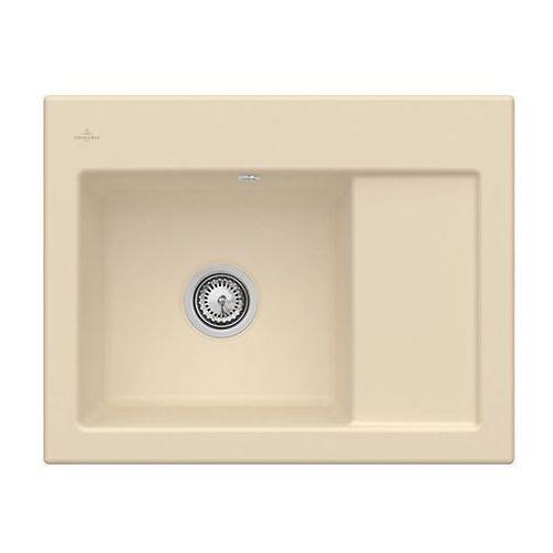 Zlew ceramiczny subway 45 compact - i5 sand \ lewa \ manualny marki Villeroy & boch