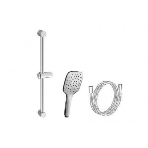 zestaw prysznicowy-wąż 150cm, słuchawka air-1 funkcja, drążek 60cm 923.00 x07s004 marki Ravak
