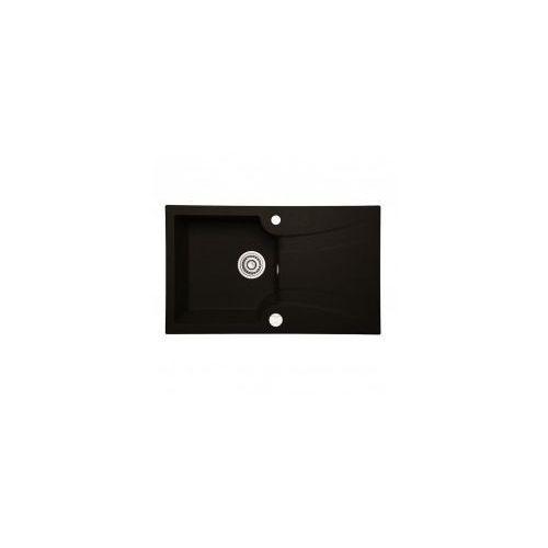 LAVEO DEVON Zlewozmywak granitowy 78x46x17cm, czarny SGV 711T, SGV711T
