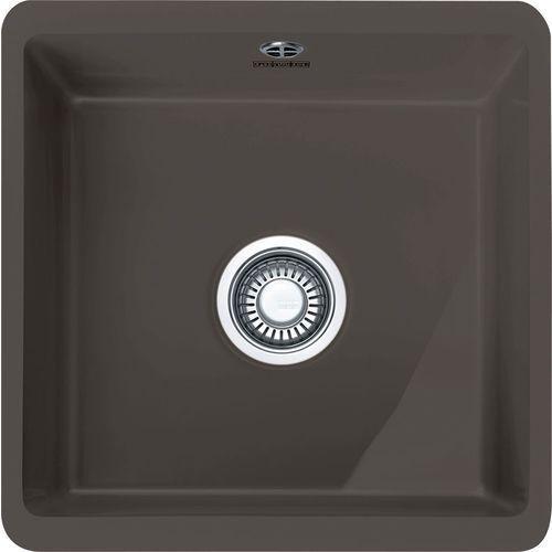 Franke Zlewozmywak ceramiczny kubus kbk 110-40 grafitowy fraceram (126.0379.979) (7612981621049)