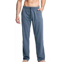 Męskie spodnie do piżamy długie nmb 040 denim marki Atlantic