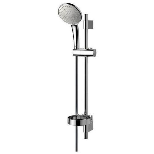 ideal rain zestaw natryskowy ze słuchawką jednofunkcyjną na drążku xl 90 cm chrom b9431aa marki Ideal standard