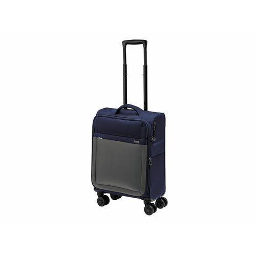 Topmove® walizka pokładowa niebiesko /szara, 35l (4056233289824)