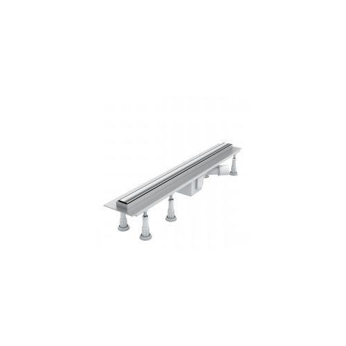 Schedpol slim lux odwodnienie liniowe 80x3,5x9,5 steel slim olsl80/slx