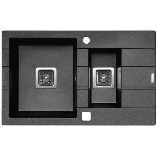 Zlewozmywak PYRAMIS ARKADIA (78x48) 1 1/2B 1D metal grafit (5201217236434)