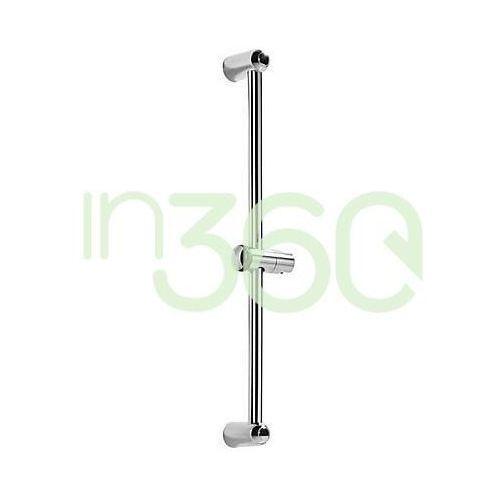 Tres eco-tres drążek prysznicowy niklowany Ø 25 mm 614 mm chrom 143835