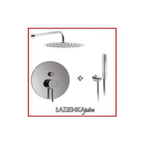 Podtynkowy zestaw prysznicowy z baterią omnires y y1235, chrom zest18 marki Zestawy