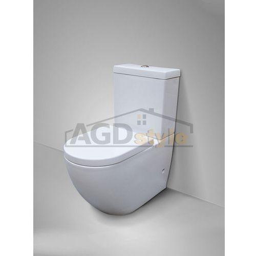 Kompakt wc decos + deska duro (msk-2673adu) marki Massi