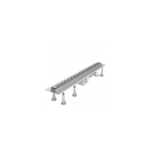 SCHEDPOL SLIM LUX Odwodnienie liniowe 80x3,5x9,5 STAMP SLIM OLSP80/SLX, OLSP80/SLX