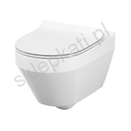 CERSANIT CREA Miska WC Clean On (owalna) + deska wolnoopadająca S701-212