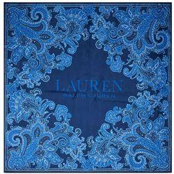 Chusta LAUREN RALPH LAUREN - Noa 454835713003 Holiday Navy, kolor niebieski