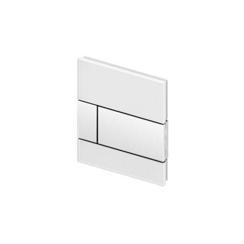 Tece przycisk spłukujący do pisuaru TeceSquare szkło białe 9242800
