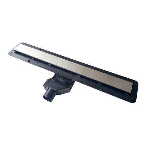 Odpływ liniowy Durasan Black Glass 750 mm fi 50 mm