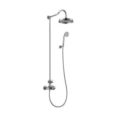 Omnires Zestaw prysznicowy natynkowy z termostatem am5244/6 cr