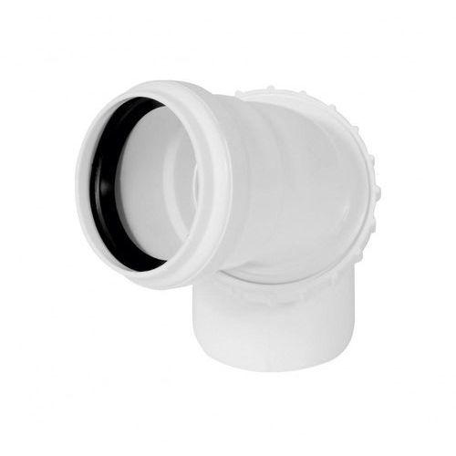 Tycner Kolanko uniwersalne 110 mm białe