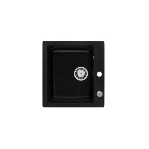 Forb zlewozmywak granitowy, czarny 5906660181019