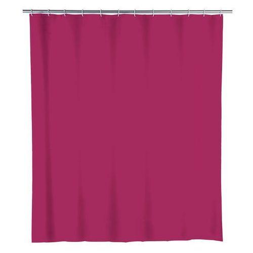Zasłona prysznicowa, PEVA, kolor malinowy, 180x200 cm, WENKO (4008838155035)
